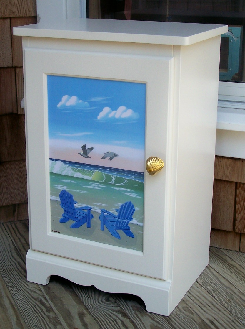 Hand painted furniture, coastal, cottage, beach, home living ...